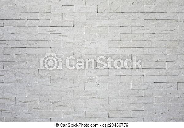 vägg, grå, tegelsten - csp23466779