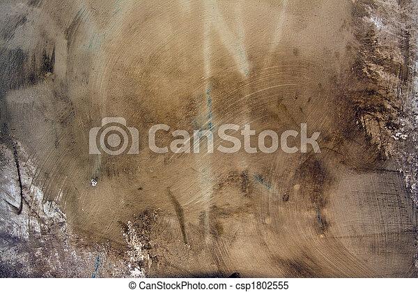 vägg, grunge, artistisk, cement - csp1802555