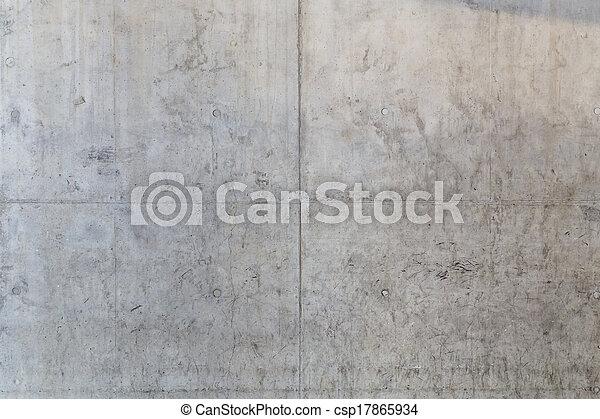 vägg, konkret, grungy, bakgrund, golv - csp17865934