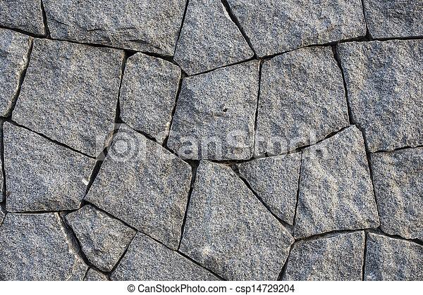 vägg, sten - csp14729204