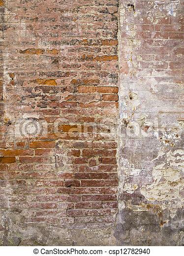 vägg, stena textur - csp12782940