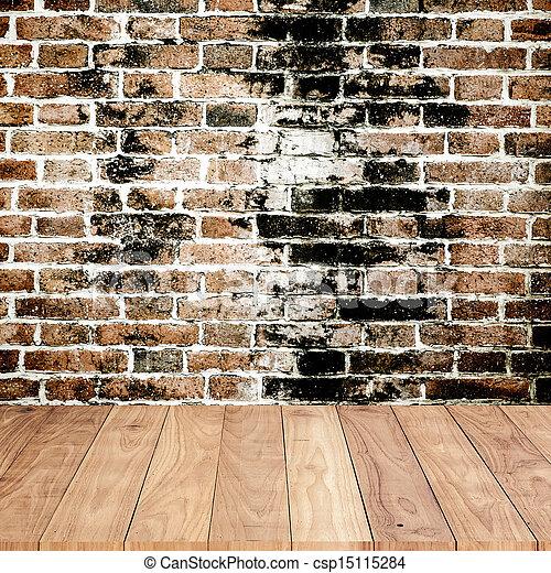 vägg, tegelsten, bakgrund, struktur - csp15115284