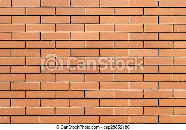 vägg, tegelsten, struktur, bakgrund - csp28852180