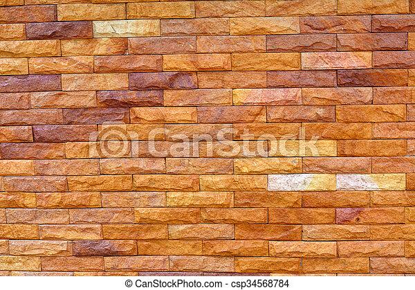 vägg, tegelsten, struktur, bakgrund - csp34568784