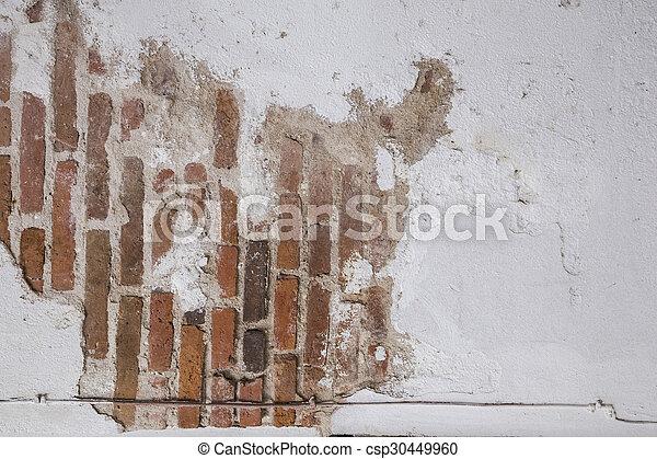 vägg, tegelsten, struktur, bakgrund - csp30449960