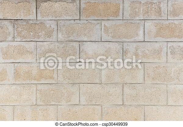 vägg, tegelsten, struktur, bakgrund - csp30449939