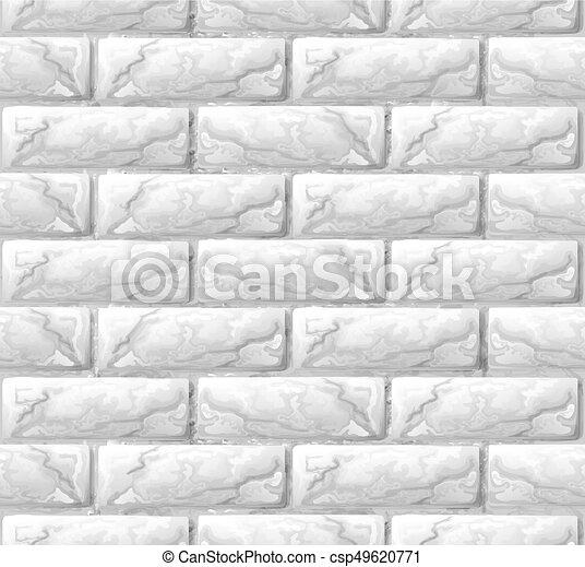 vägg, tegelsten, struktur, seamless, bakgrund - csp49620771