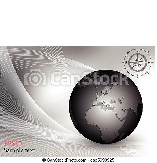 värld glob - csp5693925