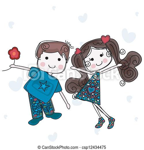 vær min valentine - csp12434475