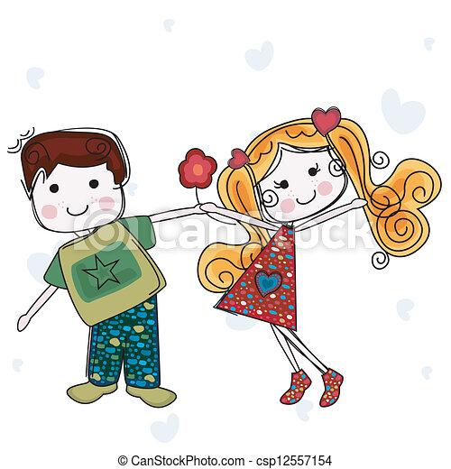 vær min valentine - csp12557154