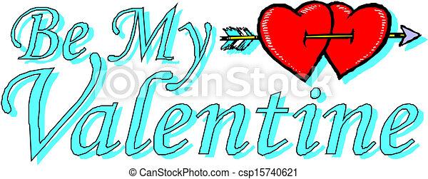 vær min valentine - csp15740621