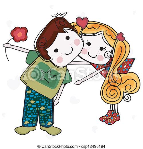 vær min valentine - csp12495194