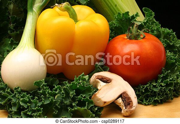 végétariens - csp0289117