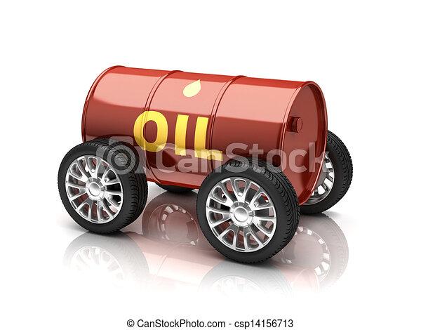 véhicule, carburants pétrole - csp14156713