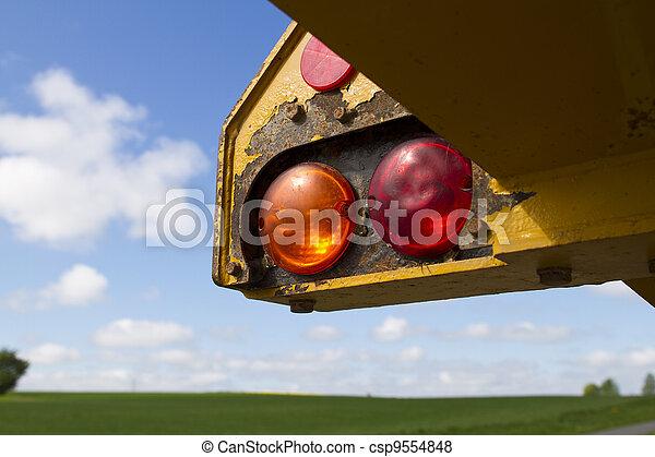 véhicule construction - csp9554848