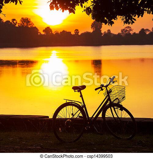 vélo - csp14399503