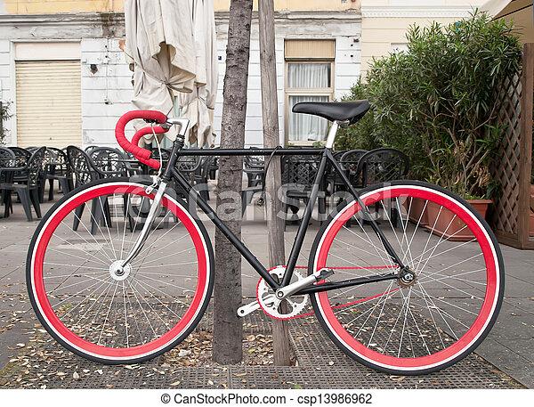 vélo - csp13986962