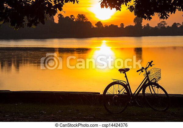 vélo - csp14424376