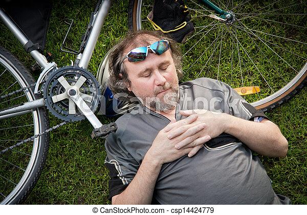 vélo - csp14424779