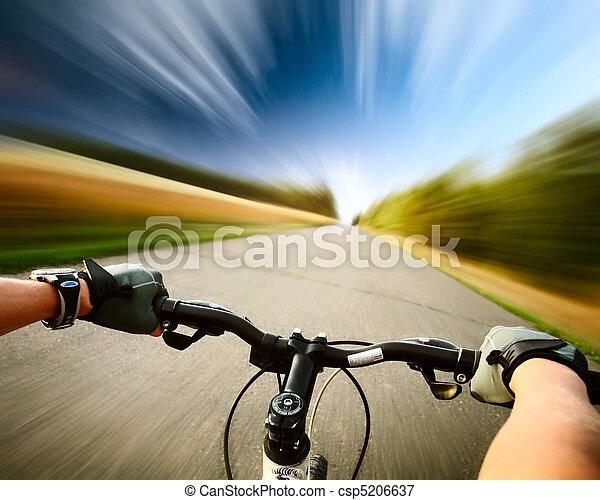 vélo - csp5206637