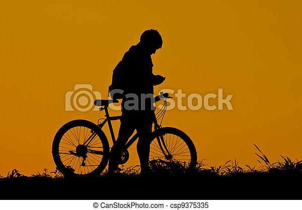 vélo - csp9375335