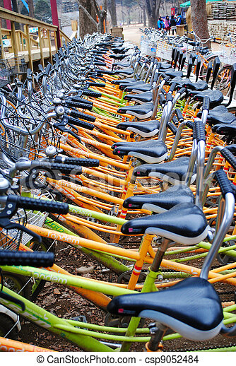 vélo - csp9052484