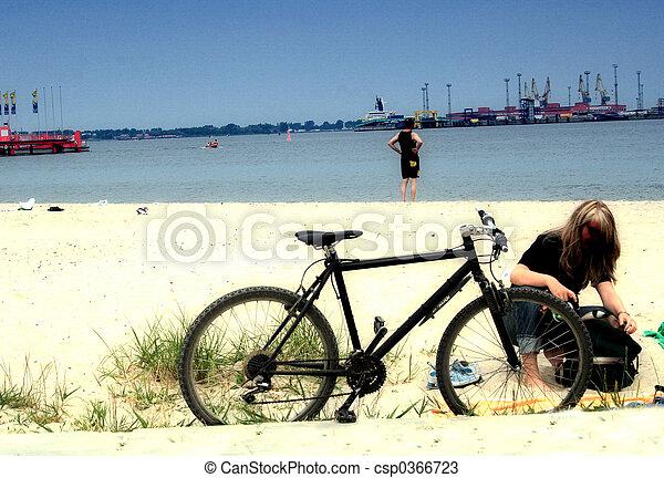 vélo - csp0366723