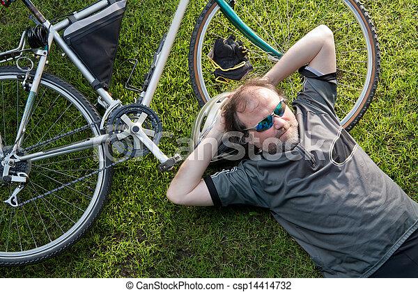 vélo - csp14414732