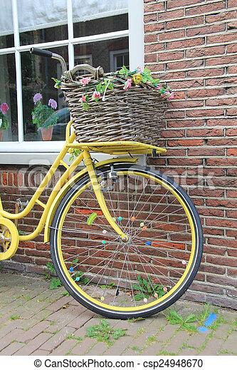 vélo, vieux - csp24948670
