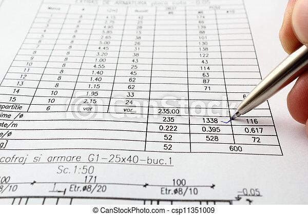 vérification, quantités - csp11351009