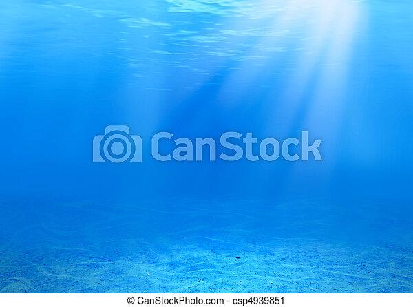 víz alatti, háttér - csp4939851