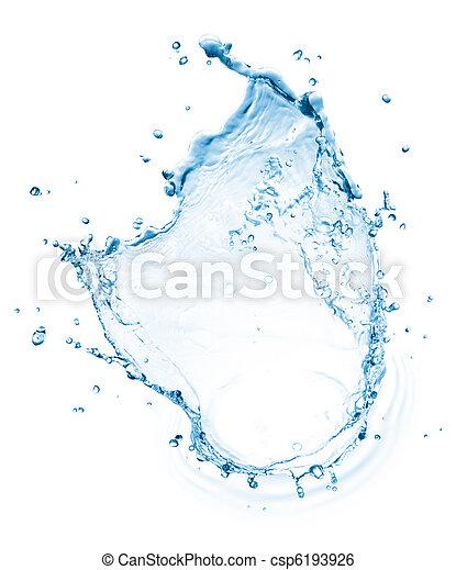 víz, loccsanás - csp6193926