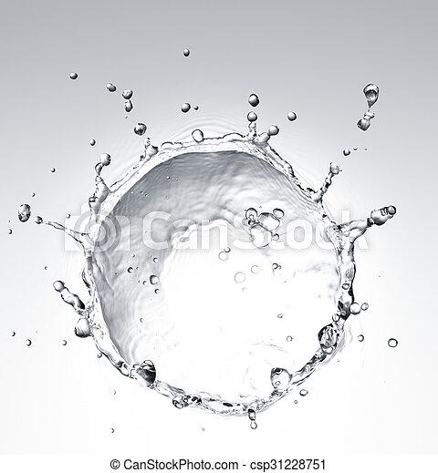 víz, loccsanás - csp31228751