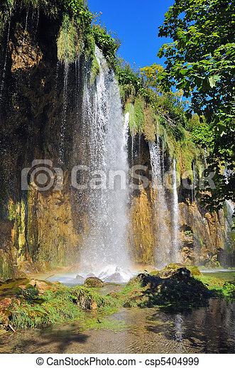 vízesés, erdő - csp5404999