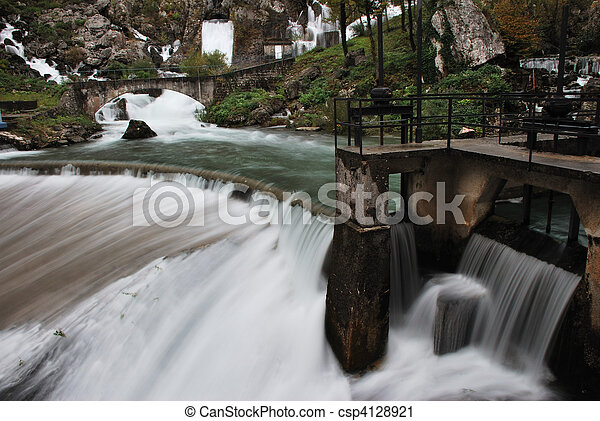 vízesés - csp4128921