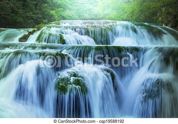 vízesés - csp19588192