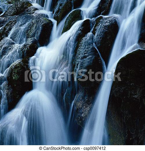 vízesés - csp0097412