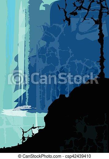 vízesés - csp42439410