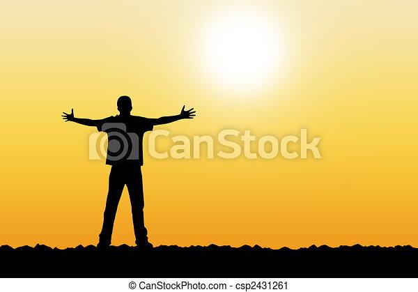 východ slunce - csp2431261