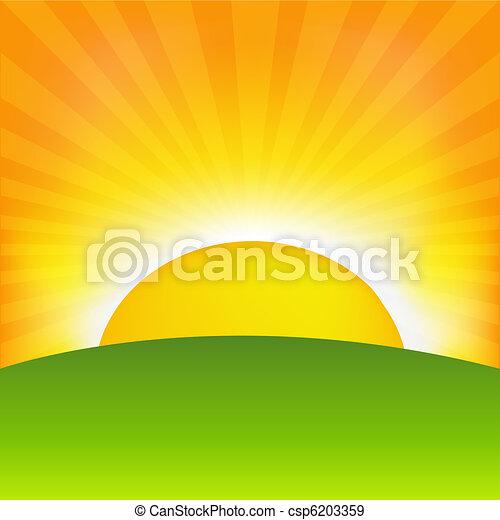 východ slunce - csp6203359