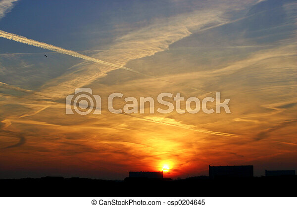 východ slunce - csp0204645