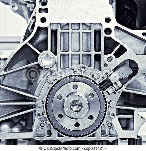 vůz, nářadí, motor - csp6414217