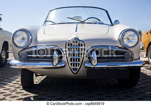 vůz, seventies, klasik - csp6649919
