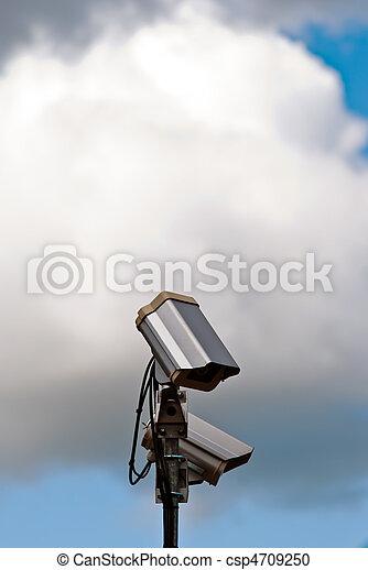 Cámara de seguridad V1 con cielo - csp4709250