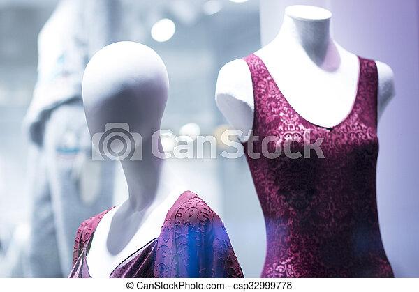 68712b8b9c3c vacío, ropa interior, lenceria, maniquí, tienda