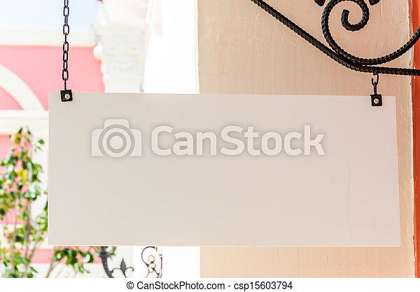 Signo vacío - csp15603794