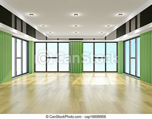 Salón vacío - csp16699956