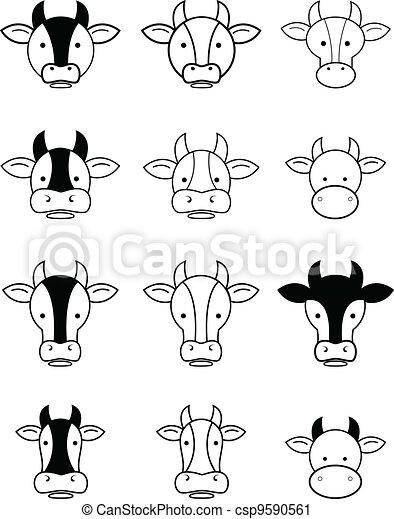 Vaca - csp9590561