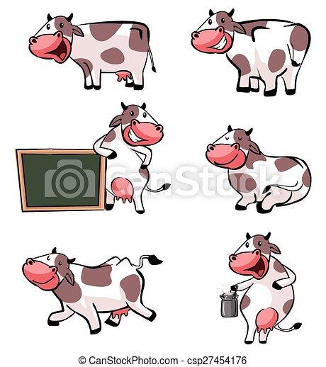 Colección de vacas - csp27454176
