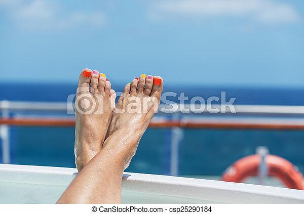 Vacaciones de crucero - csp25290184